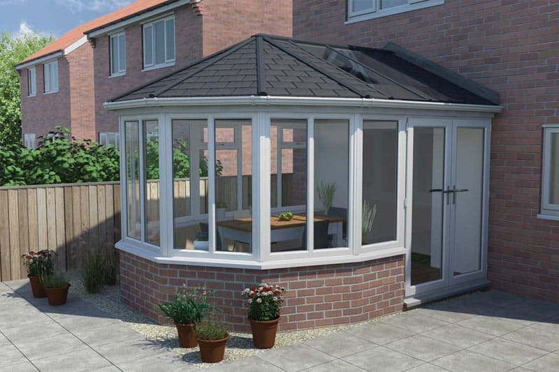 tiled conservatory roof replacement cad design